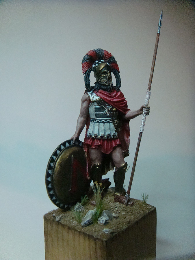 Figures: Spartan warlord, V B.C., photo #3