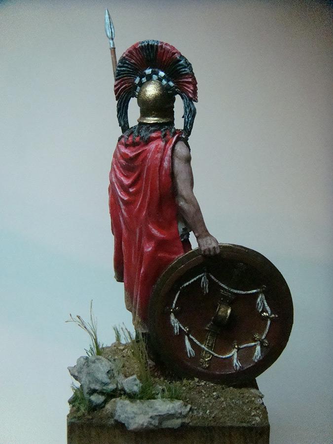 Figures: Spartan warlord, V B.C., photo #5