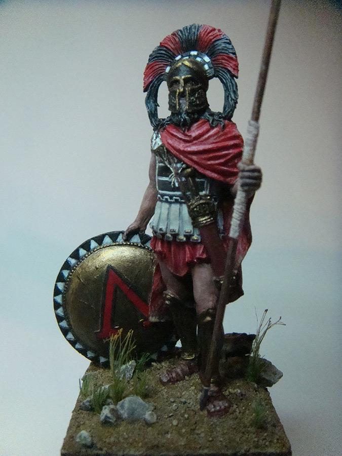 Figures: Spartan warlord, V B.C., photo #6