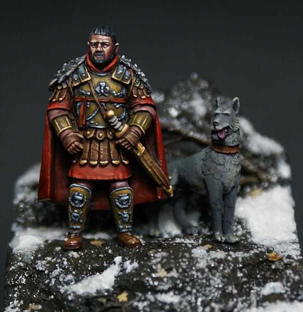 Figures: Roman general