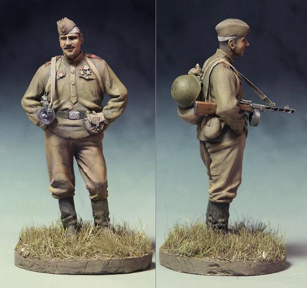 Figures: Guards Master Sergeant