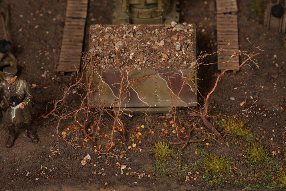 Dioramas and Vignettes: British 9.2 inch mortar at firing position, photo #20