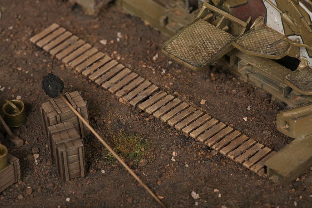 Dioramas and Vignettes: British 9.2 inch mortar at firing position, photo #34