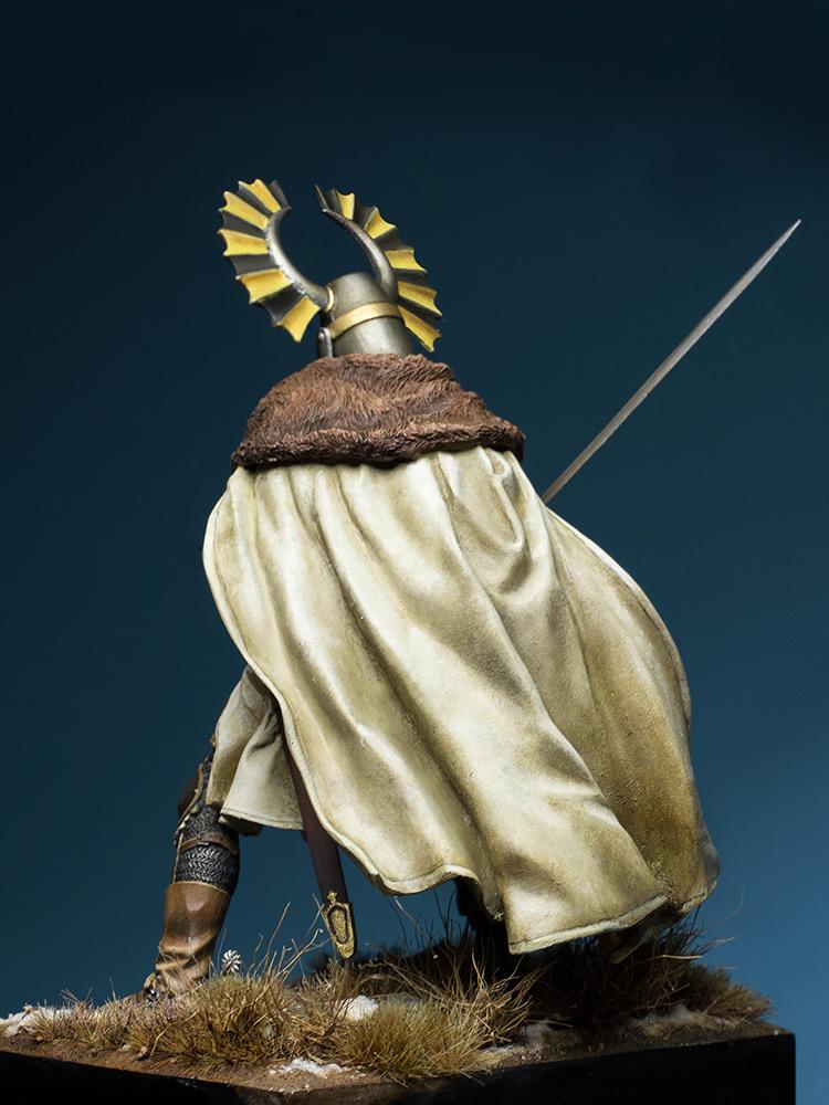 Figures: Teutonic knight, XIV cent., photo #5