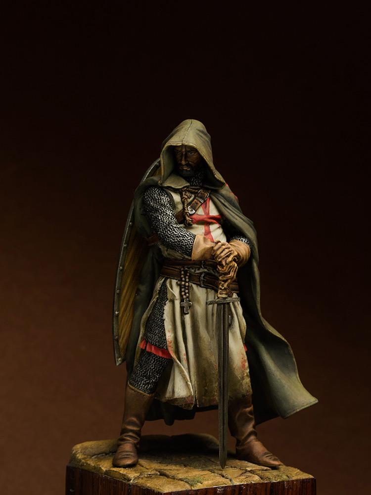 Figures: Templars sergeant, XIII cent., photo #1