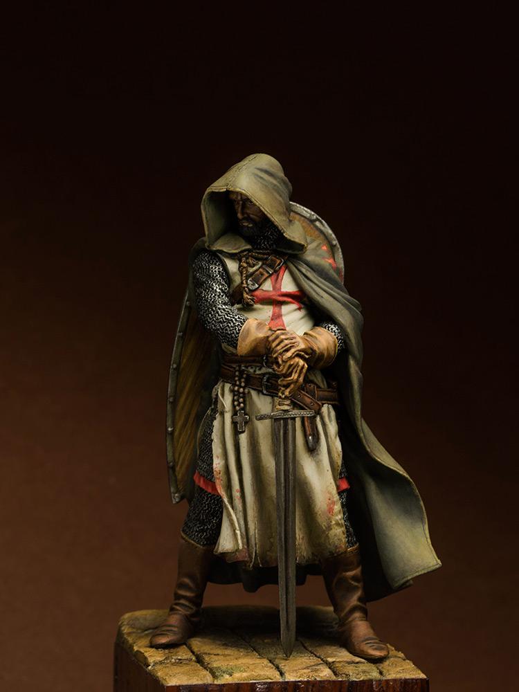 Figures: Templars sergeant, XIII cent., photo #2