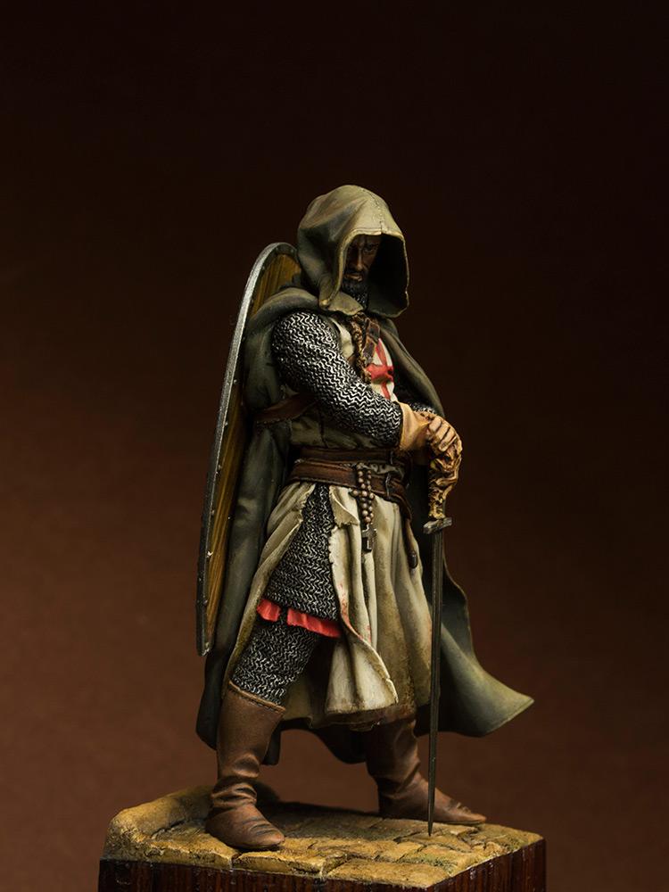 Figures: Templars sergeant, XIII cent., photo #3