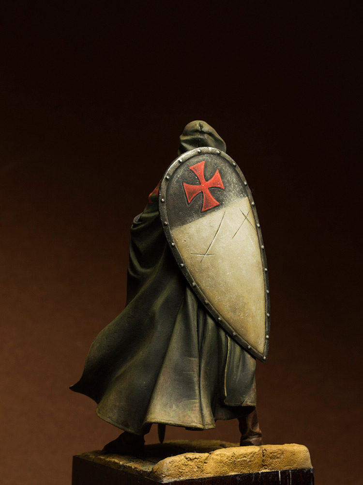 Figures: Templars sergeant, XIII cent., photo #5