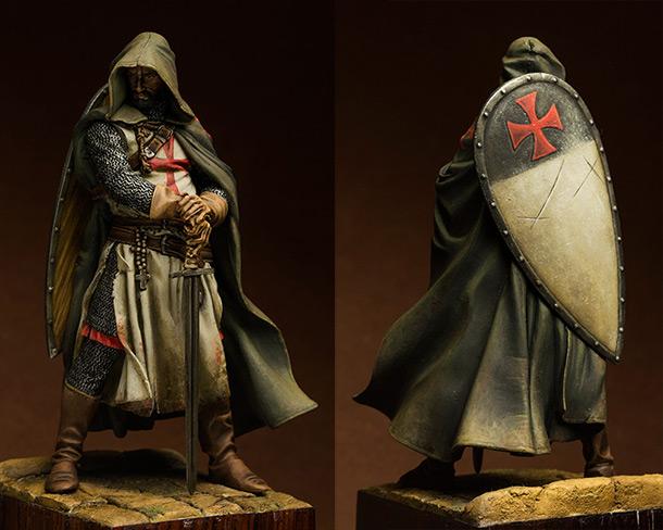 Figures: Templars sergeant, XIII cent.
