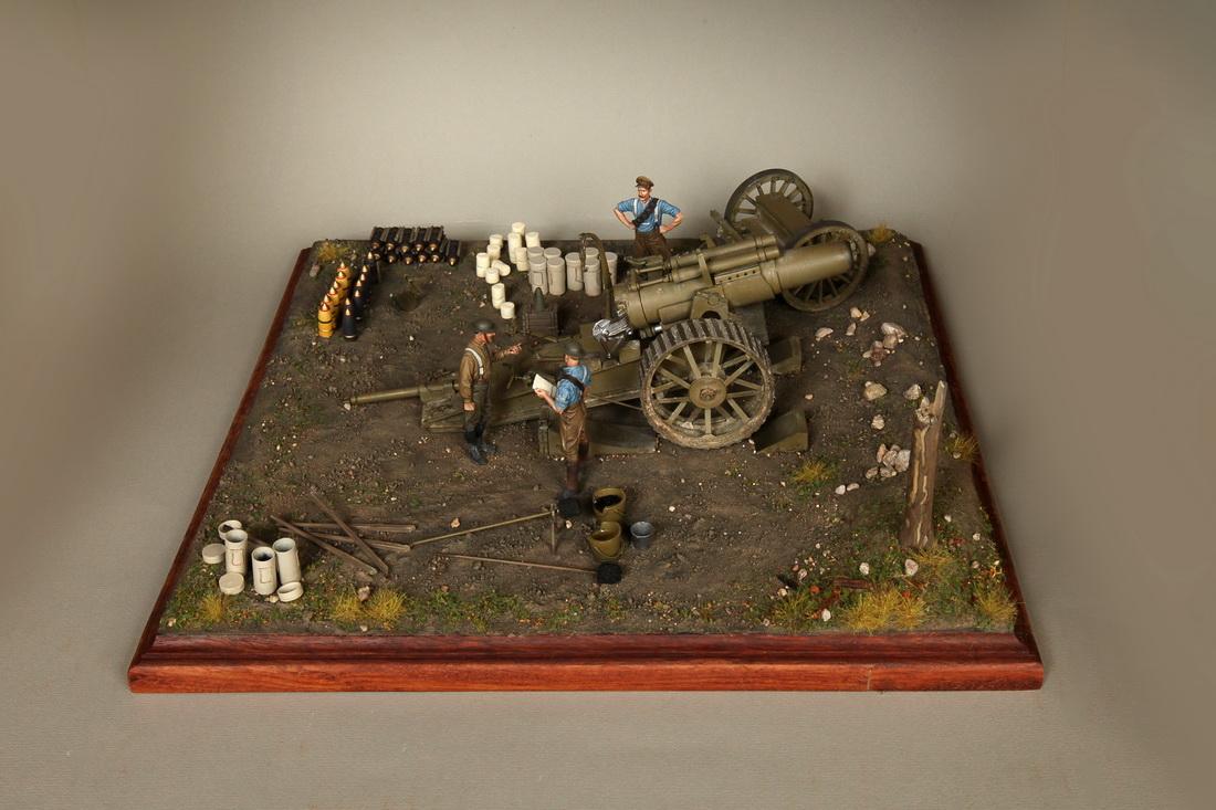 Dioramas and Vignettes: 8-inch heavy gun Mk II , photo #1