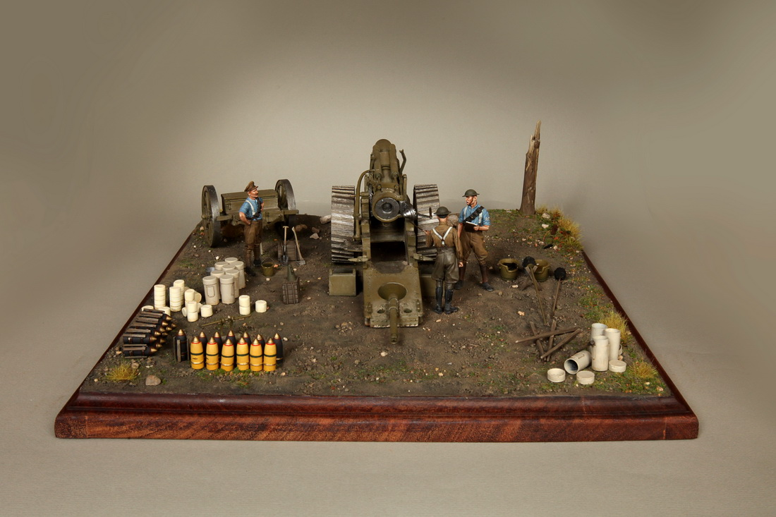 Dioramas and Vignettes: 8-inch heavy gun Mk II , photo #11