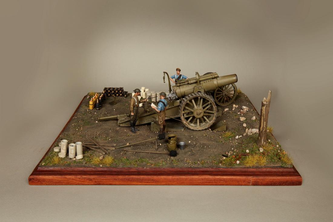 Dioramas and Vignettes: 8-inch heavy gun Mk II , photo #12