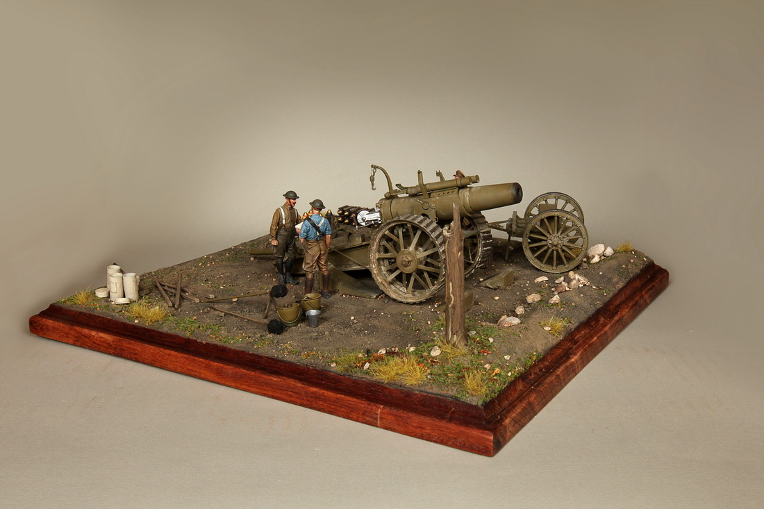 Dioramas and Vignettes: 8-inch heavy gun Mk II , photo #13