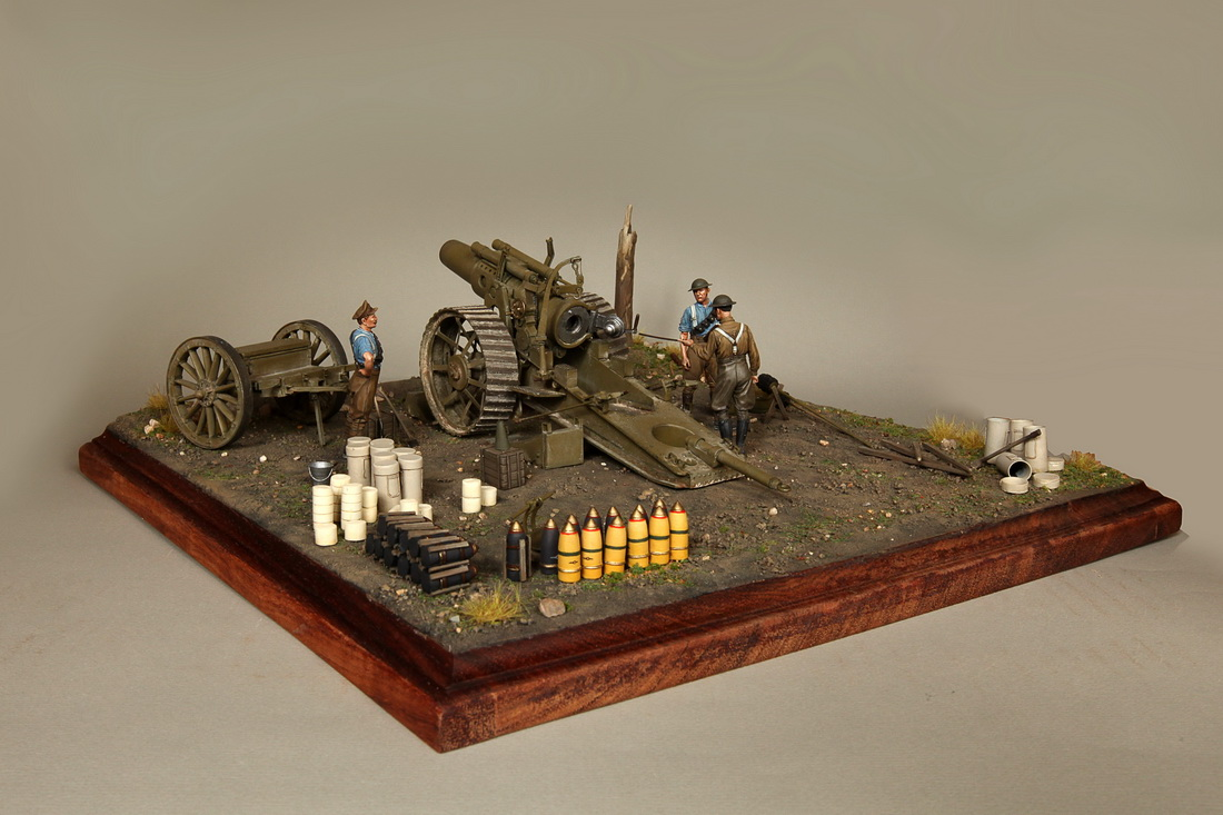 Dioramas and Vignettes: 8-inch heavy gun Mk II , photo #15