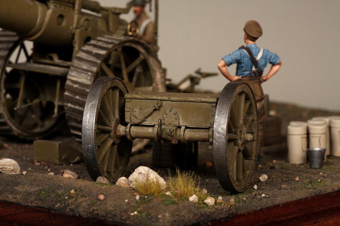 Dioramas and Vignettes: 8-inch heavy gun Mk II , photo #17