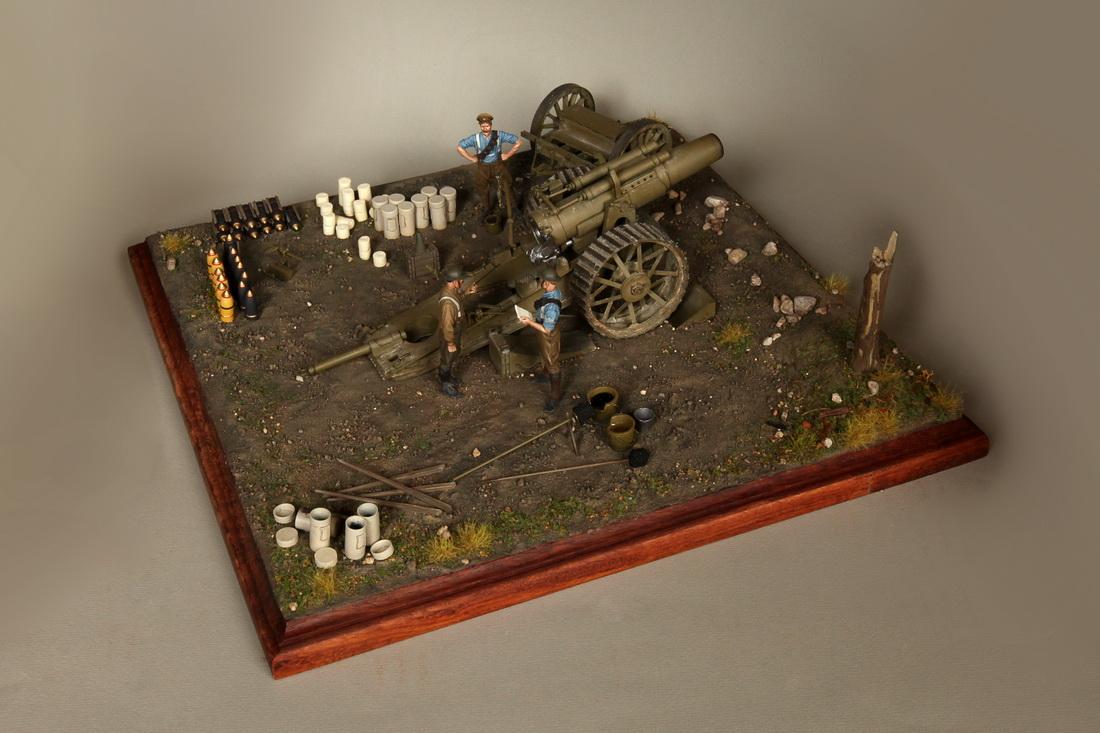 Dioramas and Vignettes: 8-inch heavy gun Mk II , photo #2