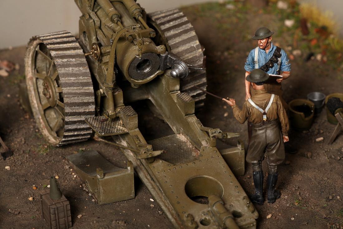 Dioramas and Vignettes: 8-inch heavy gun Mk II , photo #21