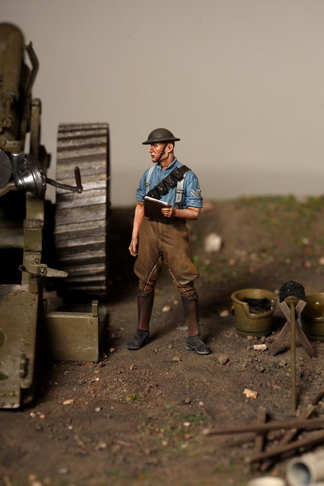 Dioramas and Vignettes: 8-inch heavy gun Mk II , photo #22