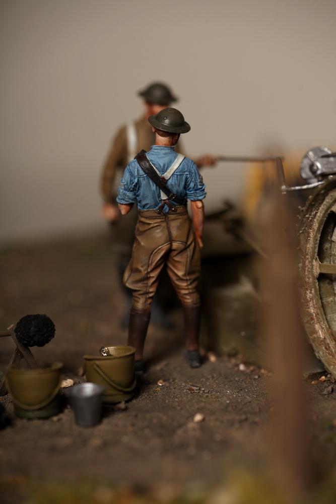 Dioramas and Vignettes: 8-inch heavy gun Mk II , photo #23
