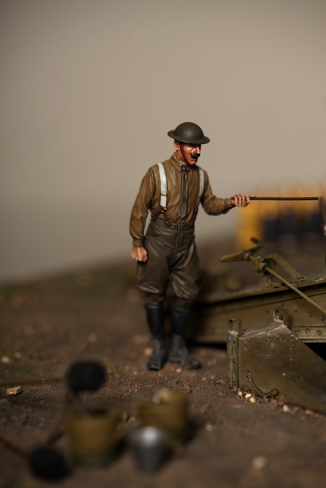 Dioramas and Vignettes: 8-inch heavy gun Mk II , photo #24
