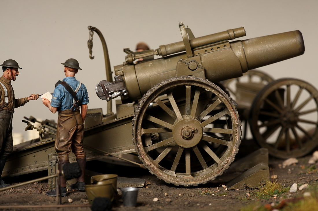 Dioramas and Vignettes: 8-inch heavy gun Mk II , photo #28