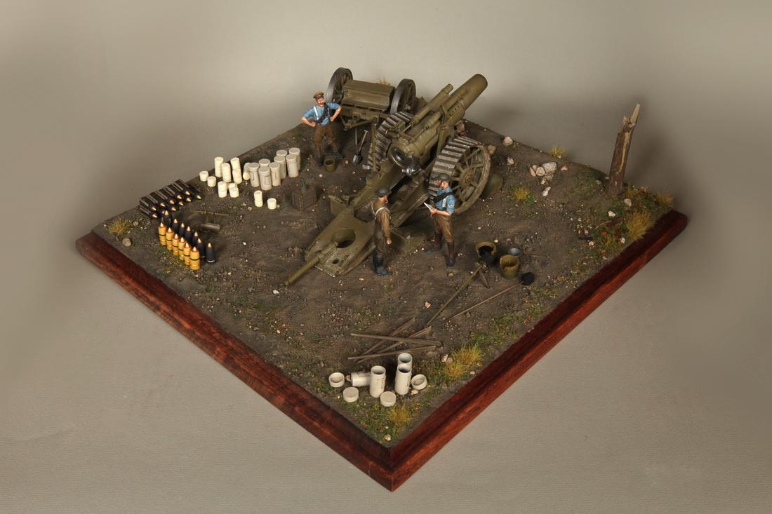Dioramas and Vignettes: 8-inch heavy gun Mk II , photo #3