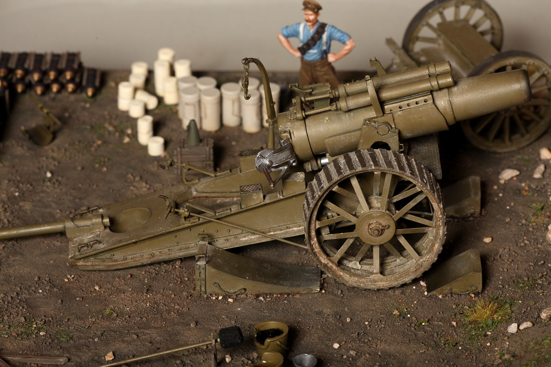 Dioramas and Vignettes: 8-inch heavy gun Mk II , photo #30
