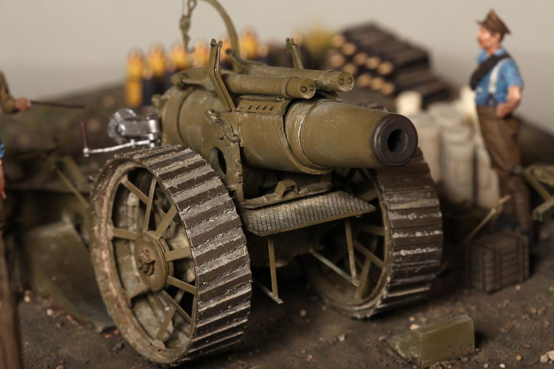 Dioramas and Vignettes: 8-inch heavy gun Mk II , photo #31