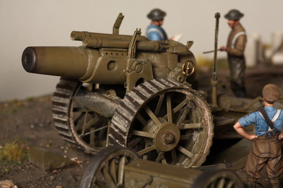 Dioramas and Vignettes: 8-inch heavy gun Mk II , photo #32