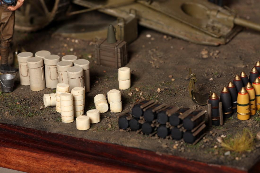 Dioramas and Vignettes: 8-inch heavy gun Mk II , photo #33