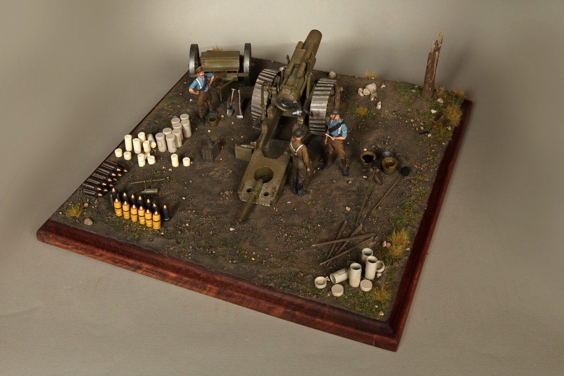 Dioramas and Vignettes: 8-inch heavy gun Mk II , photo #4