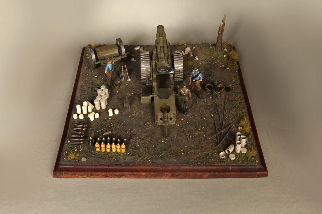 Dioramas and Vignettes: 8-inch heavy gun Mk II , photo #5