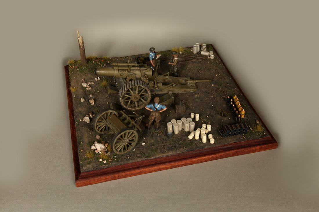 Dioramas and Vignettes: 8-inch heavy gun Mk II , photo #8