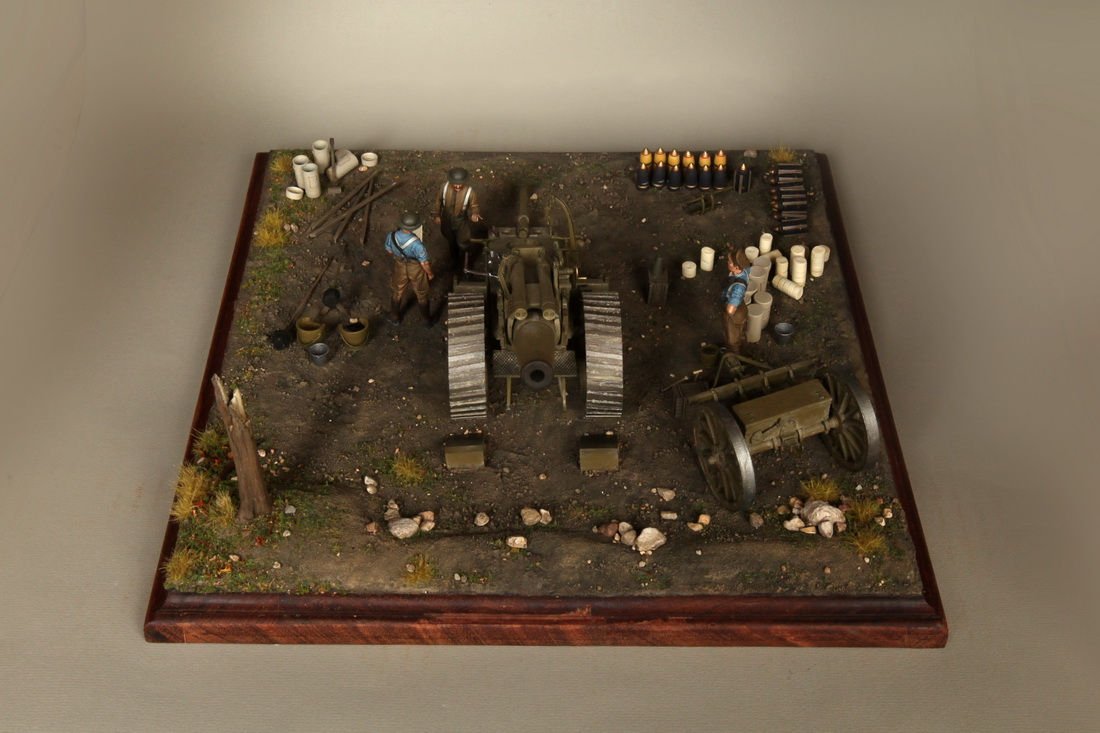 Dioramas and Vignettes: 8-inch heavy gun Mk II , photo #9