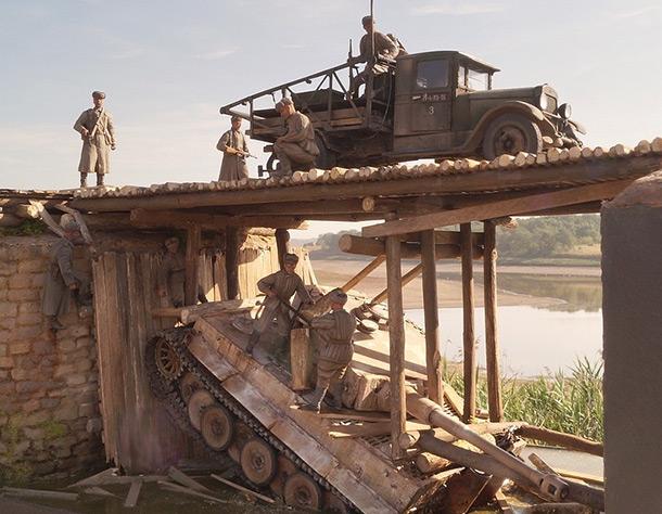 Dioramas and Vignettes: The Bridge