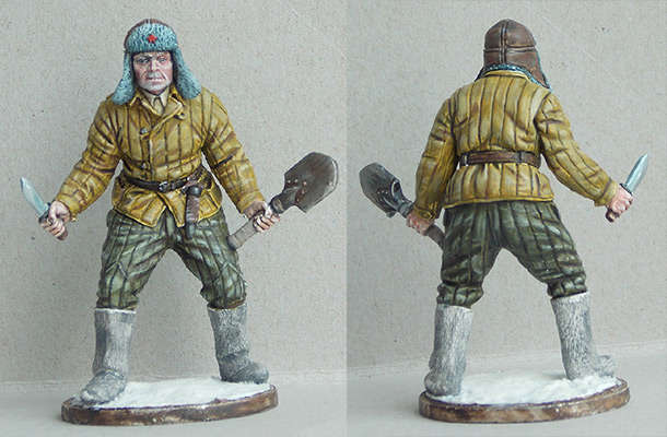 Figures: Red army soldier, 1941-43