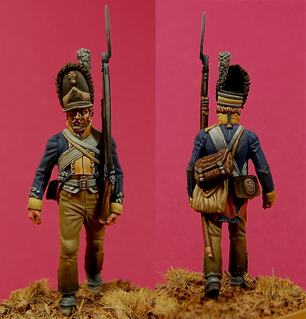 Figures: Grenadier of 10th regt. «Wedel», Prussia, 1806