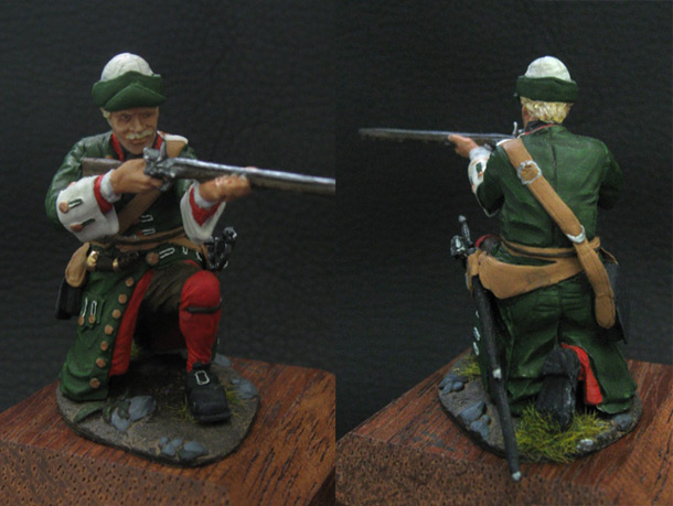 Figures: Fusilier, Novgorod infantry regt. Russia, 1708-10