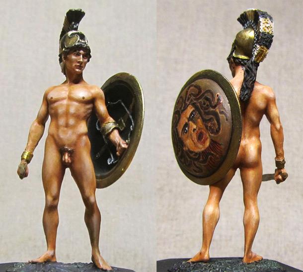Figures: Antique warrior