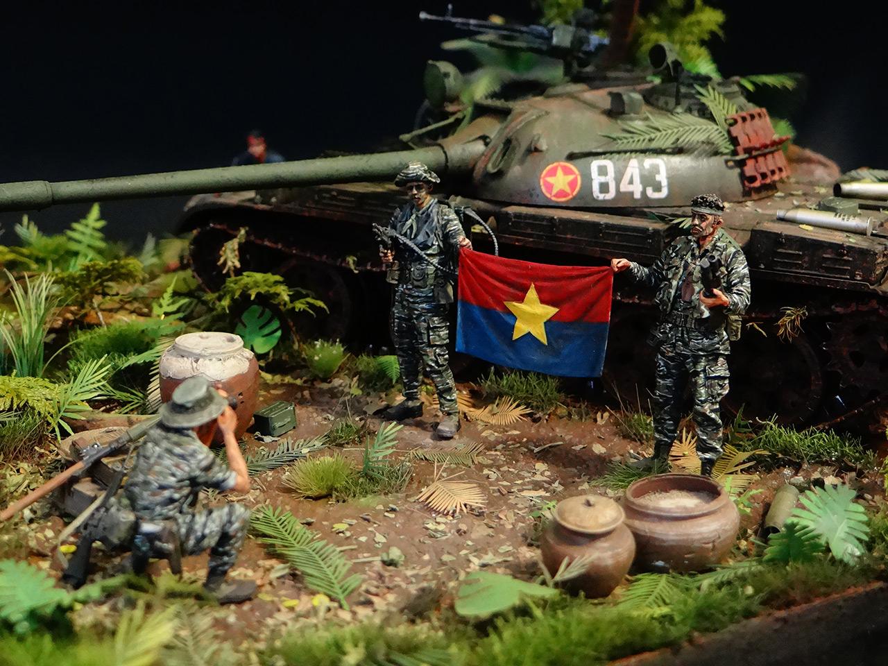 Dioramas and Vignettes: T-54.Vietnam, photo #1