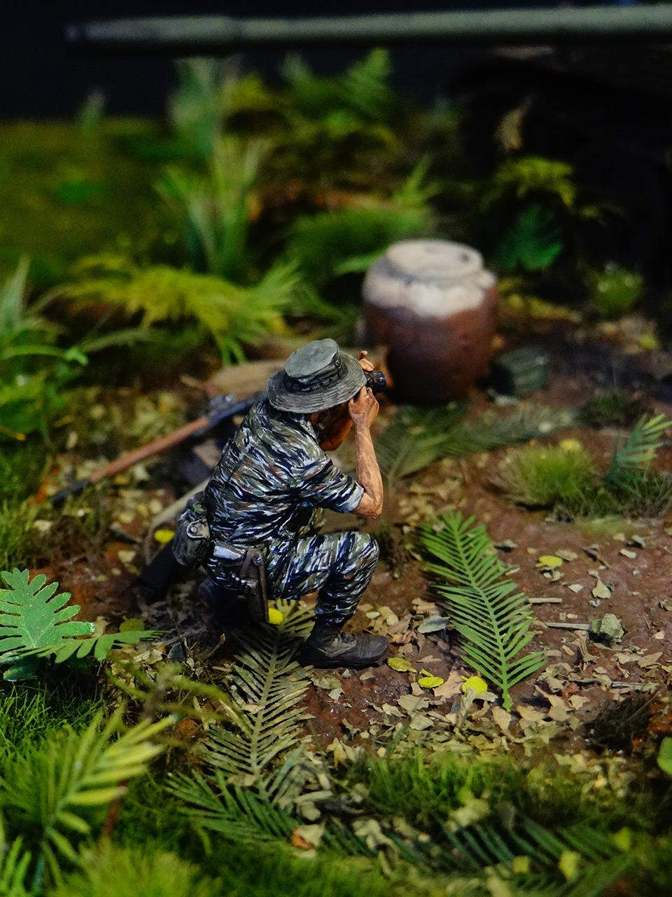 Dioramas and Vignettes: T-54.Vietnam, photo #10