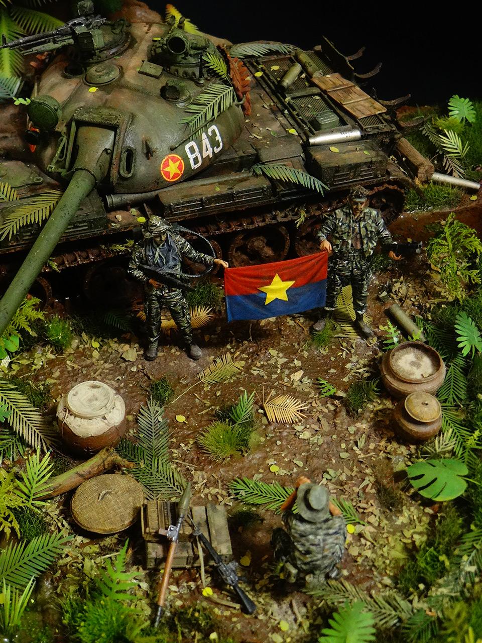 Dioramas and Vignettes: T-54.Vietnam, photo #11