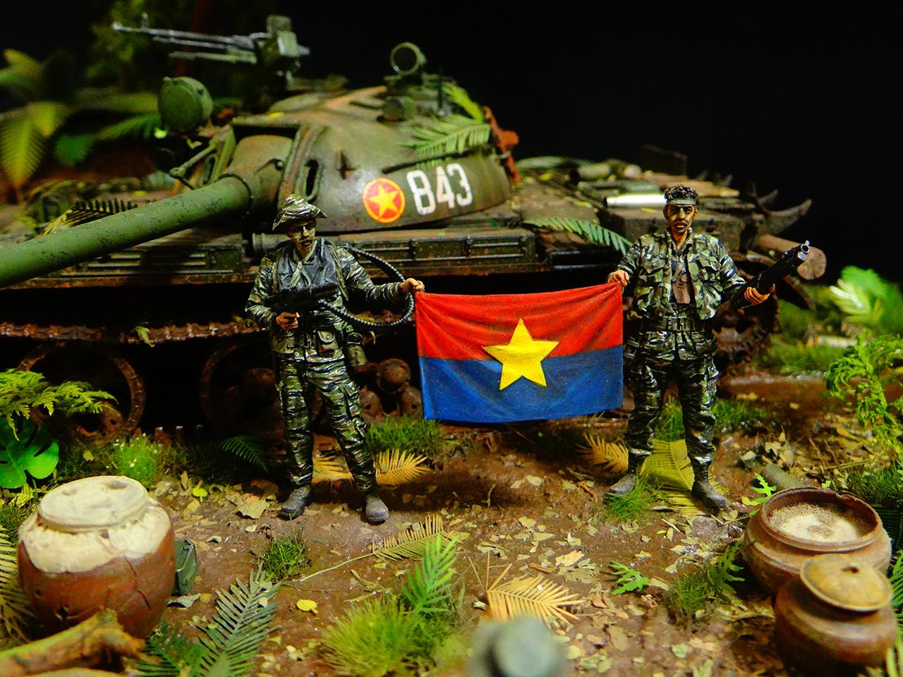 Dioramas and Vignettes: T-54.Vietnam, photo #2