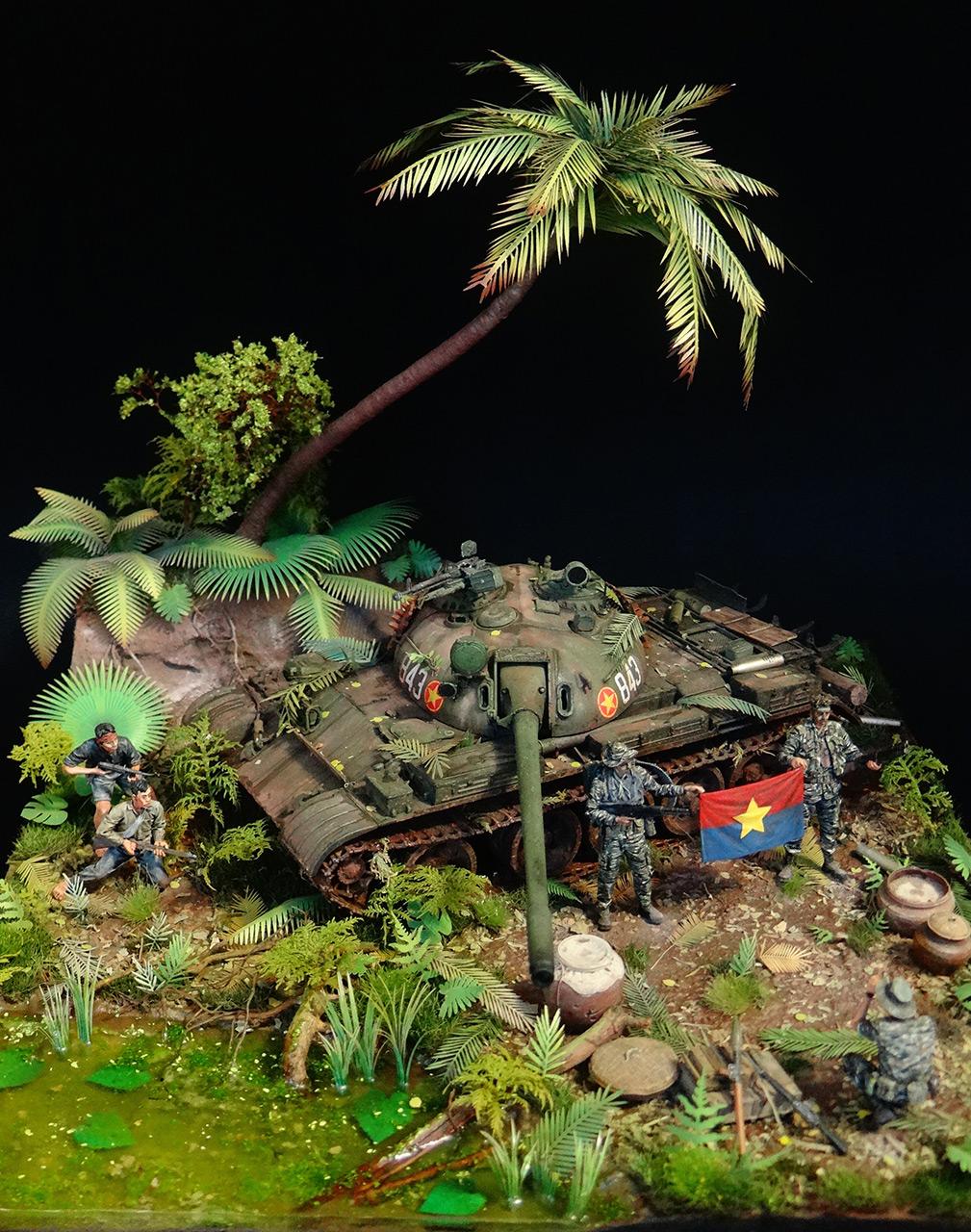 Dioramas and Vignettes: T-54.Vietnam, photo #3