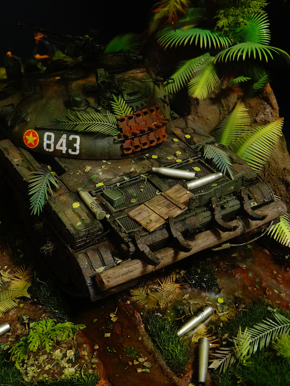 Dioramas and Vignettes: T-54.Vietnam, photo #4