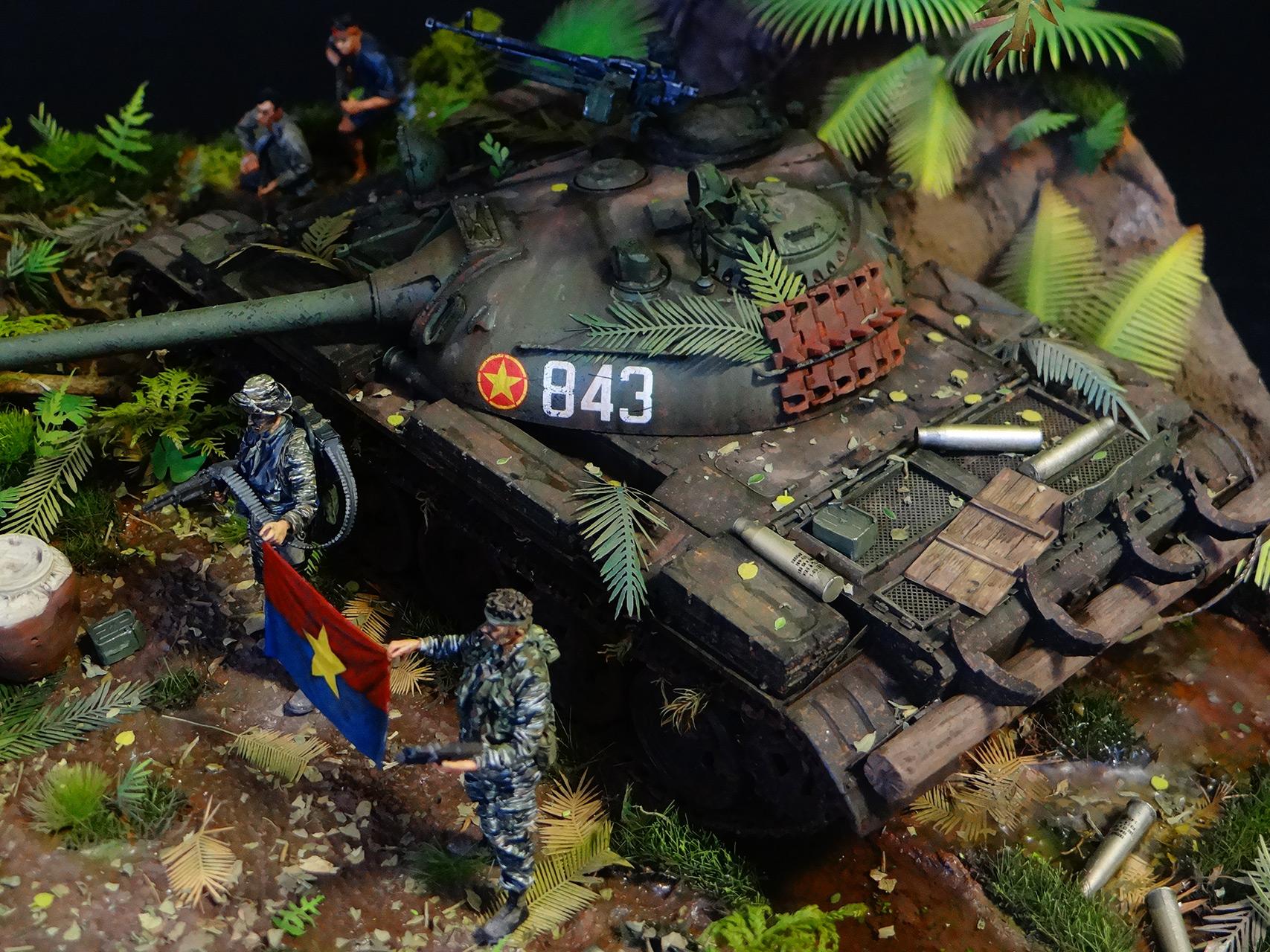 Dioramas and Vignettes: T-54.Vietnam, photo #5