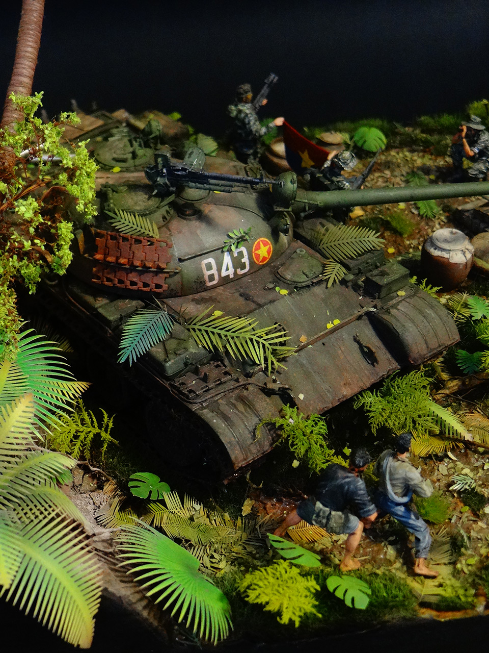 Dioramas and Vignettes: T-54.Vietnam, photo #7