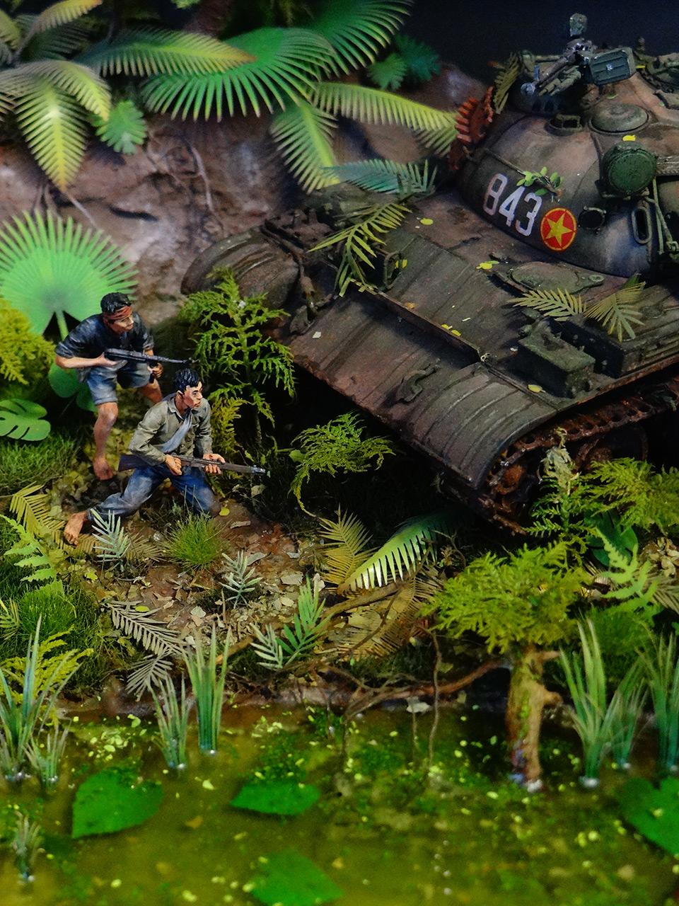 Dioramas and Vignettes: T-54.Vietnam, photo #8