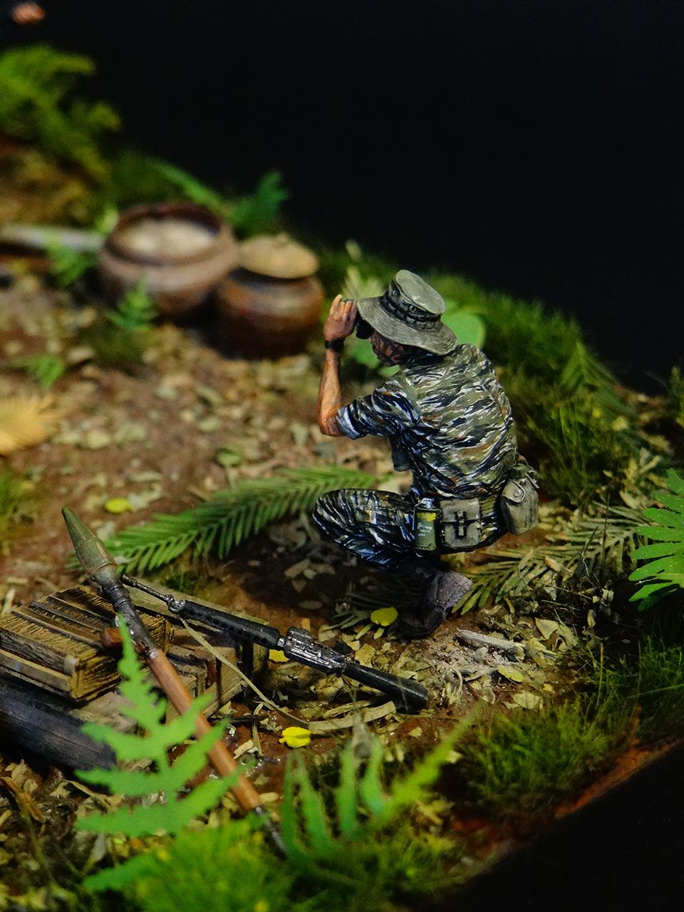 Dioramas and Vignettes: T-54.Vietnam, photo #9