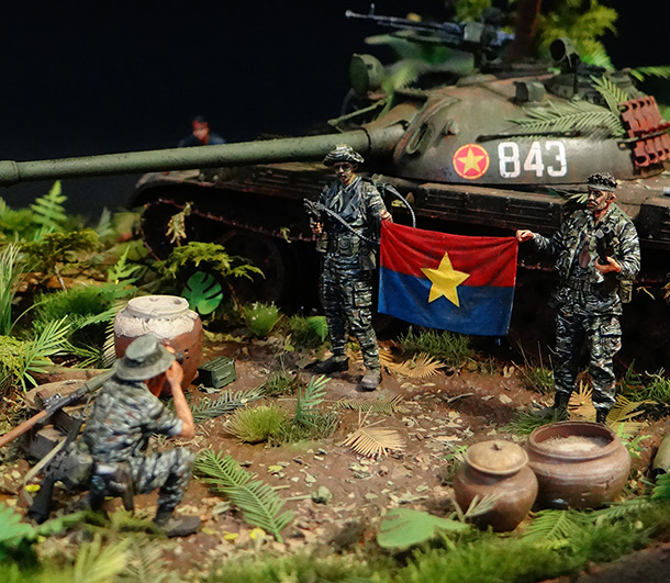 Dioramas and Vignettes: T-54.Vietnam
